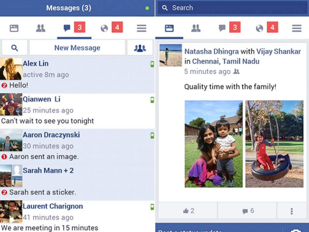 Facebook Releases New 'Lite' App That Uses Less Data - ABC News