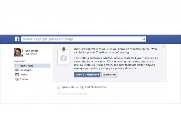Facebook Gets Rid Of Privacy Option And Makes All Users Searchable Abc News Searching facebook is a great way to find someone online. techbytes facebook iron man