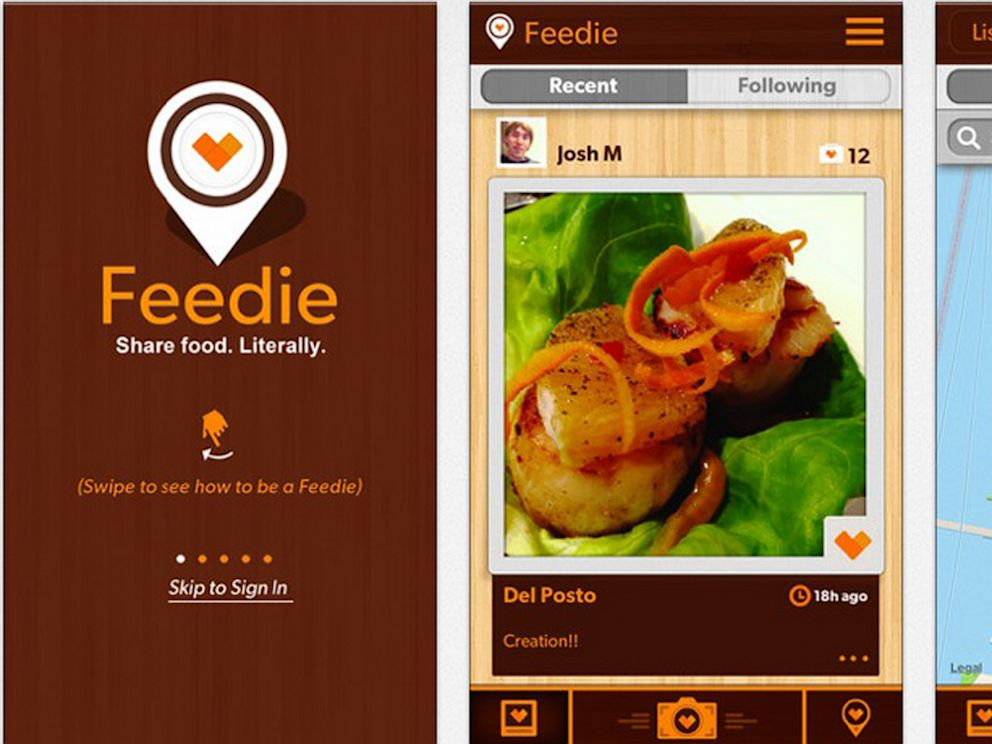 Feedie App Turns Food Photos Into Charitable Giving - ABC News