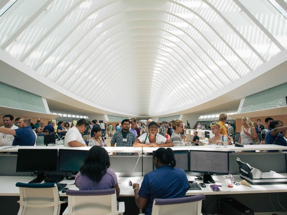PHOTO: The Digital Library at Florida Polytechnic University.