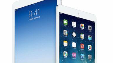 PHOTO: The iPad Air and iPad Mini with Retina Display.