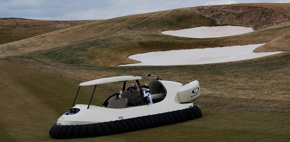 PHOTO: The first two BW1 Hovercraft have been purchased by a golf club in western Ohio.