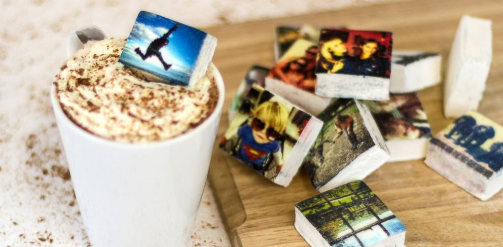 PHOTO: Boomf can take Instagram photos and turn them into marshmallows.