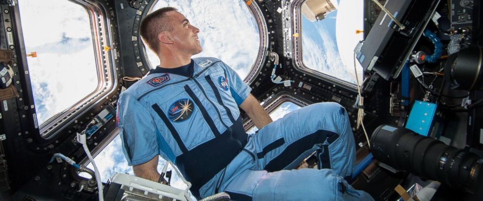 PHOTO: NASA astronaut Chris Cassidy, Expedition 36 flight engineer, in the International Space Station in 2013.
