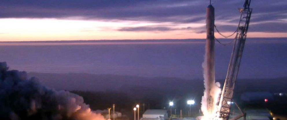 PHOTO: Full-duration static fire complete at our California pad. Preliminary data looks good in advance of Jason-3 launch.