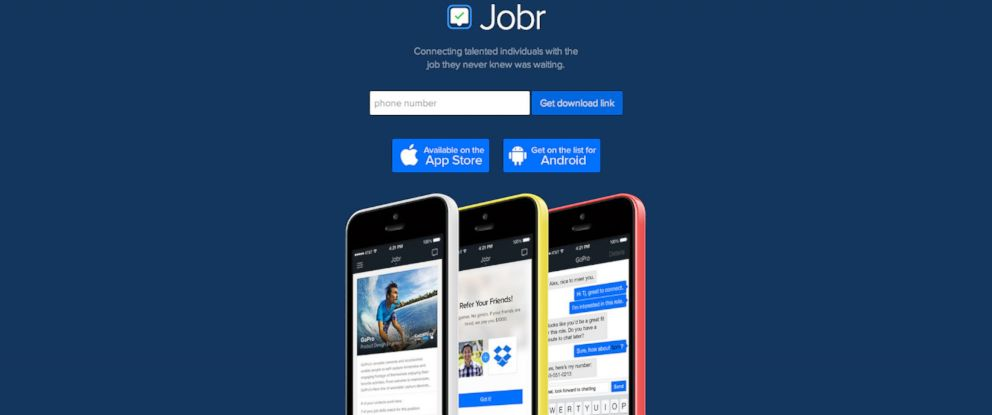 Jobr App Aims to Do For Employment What Tinder Does For Your