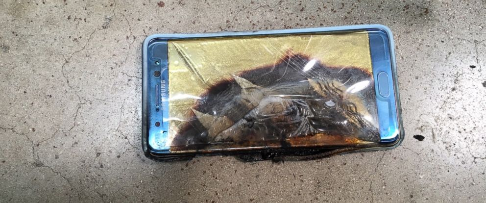 PHOTO: Jonathan Strobel has filed what is believed to be the first lawsuit to result from a battery defect affecting Samsung Note7 smartphones.
