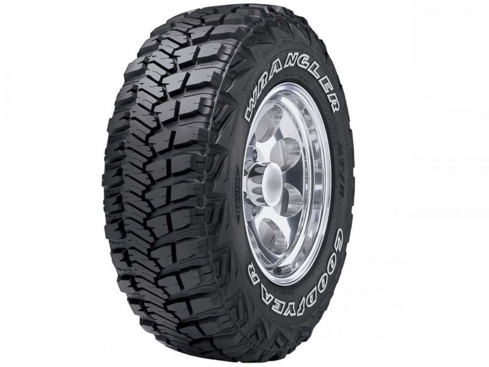 PHOTO: A Goodyear tire uses the Kevlar material.