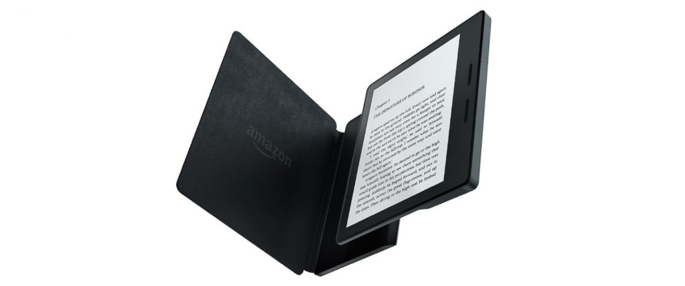 PHOTO: The Amazon Kindle Oasis is seen in this undated file photo.