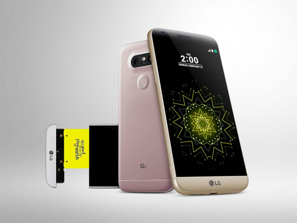 PHOTO: LGs new G5 phone is seen in this photo.