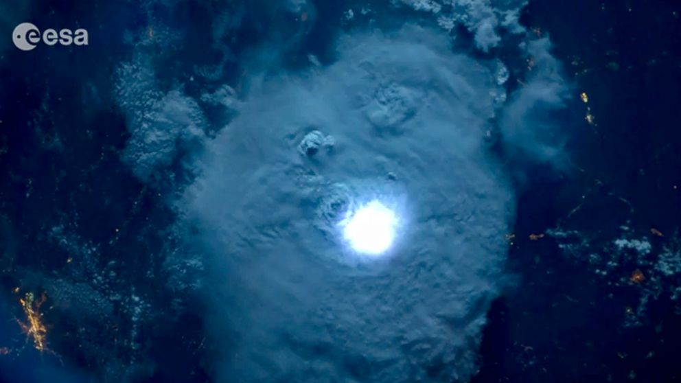 Watch: What Lightning Looks Like From Space