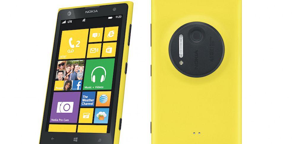 PHOTO: Nokia Lumia 1020