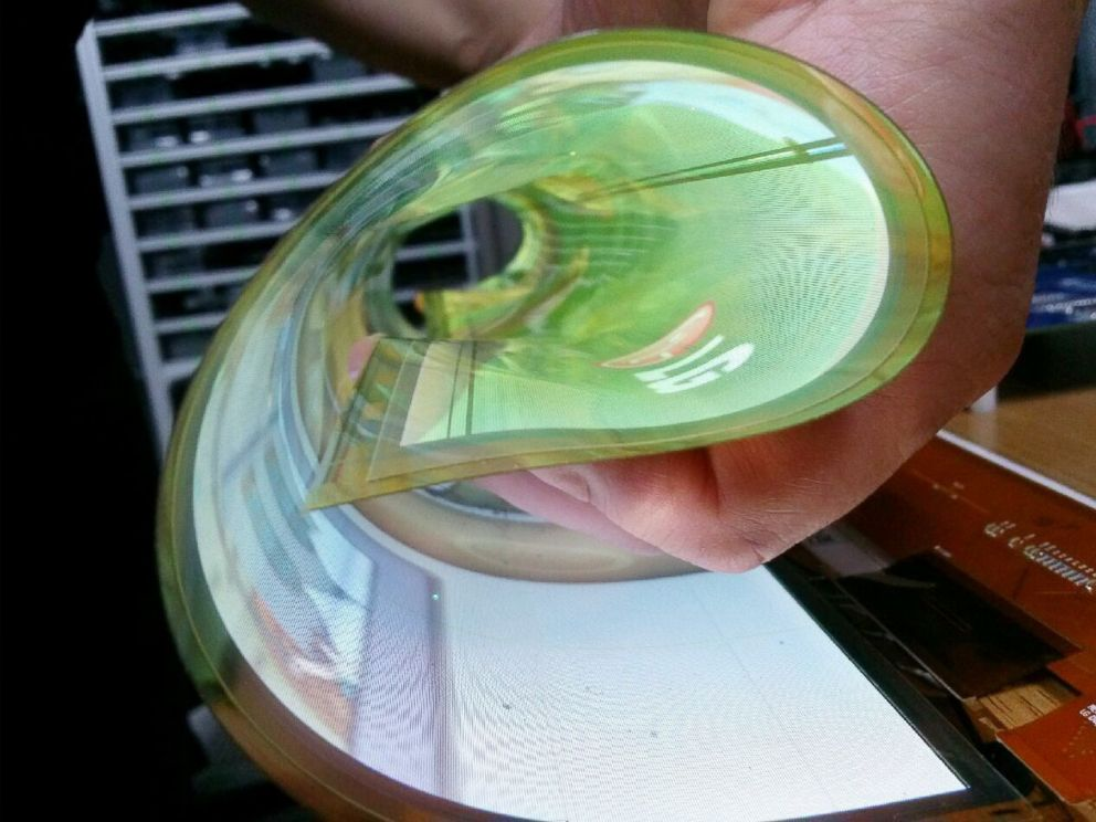 the future television will be paper thin and rollable, lg says - abc
