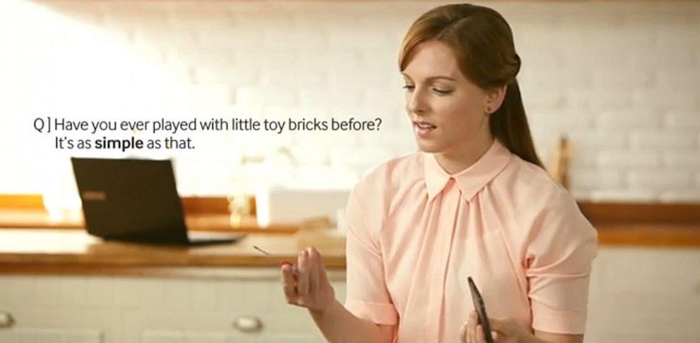 PHOTO: A Samsung ad