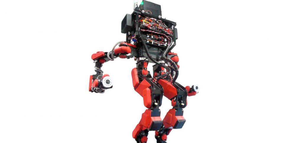 PHOTO: This robot was created by Schaft, a Japanese company recently acquired by Google.