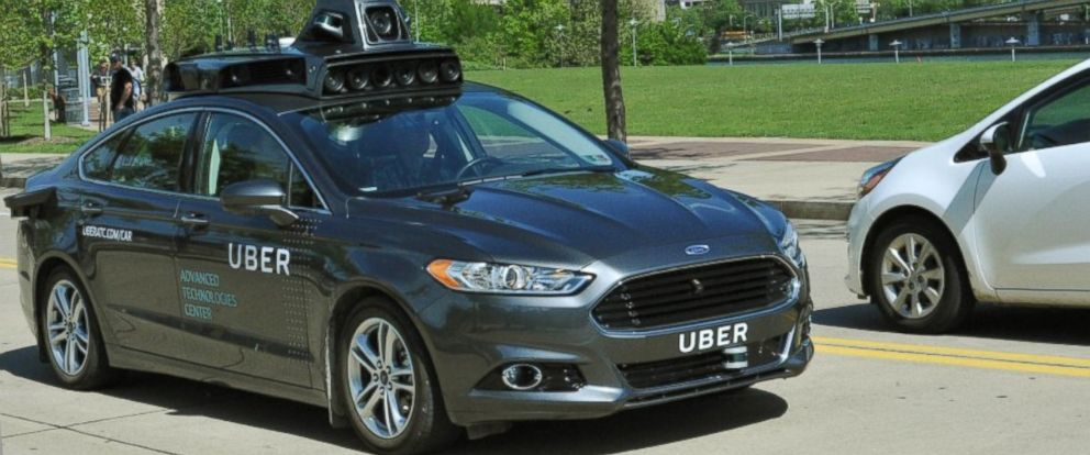 PHOTO: Uber is testing its first self-driving car in Pittsburgh.