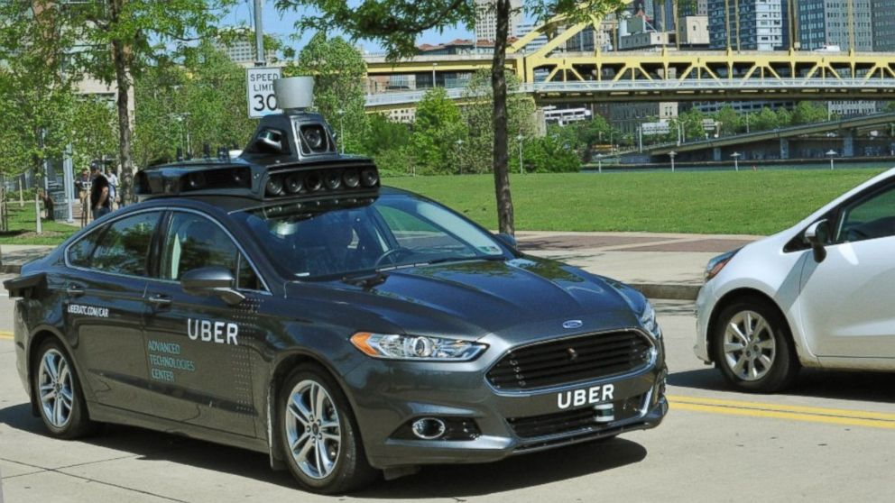Uber Takes Self-Driving Car for a Spin in Pittsburgh