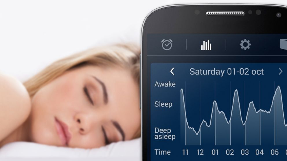 SleepCycle lets users track their sleep using an app.