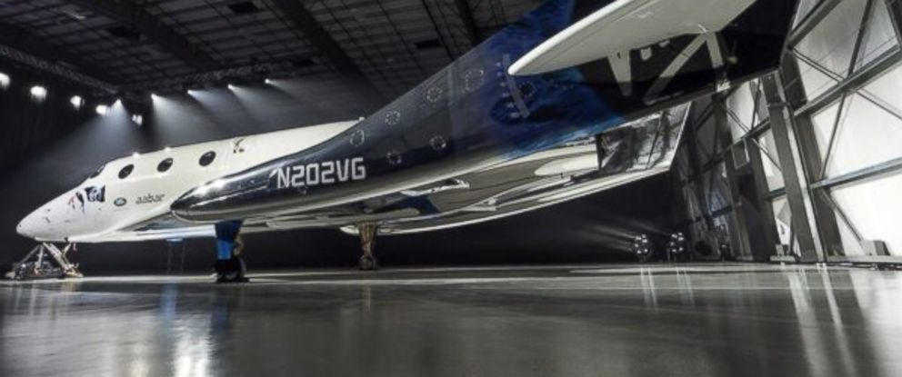 PHOTO: The Virgin Galactic SpaceShip Two is seen at an unveiling, Feb. 19, 2016, in an image posted to their social media account.