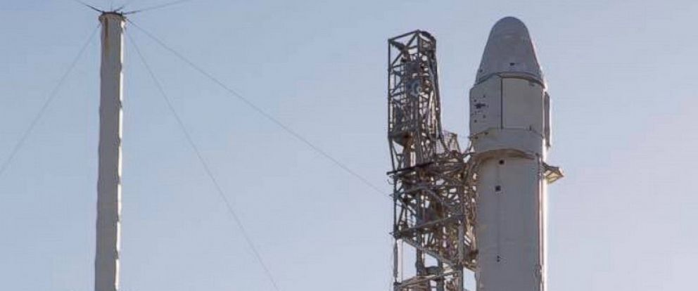 PHOTO: SpaceX is preparing for another cargo resupply mission to the International Space Station.