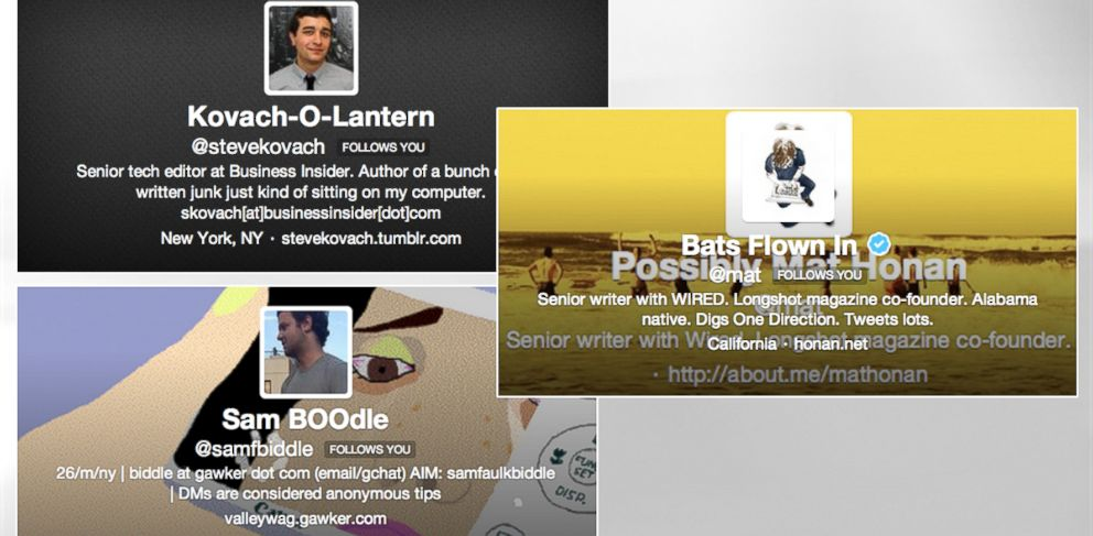 PHOTO: Twitter names have been dressed up for Halloween.