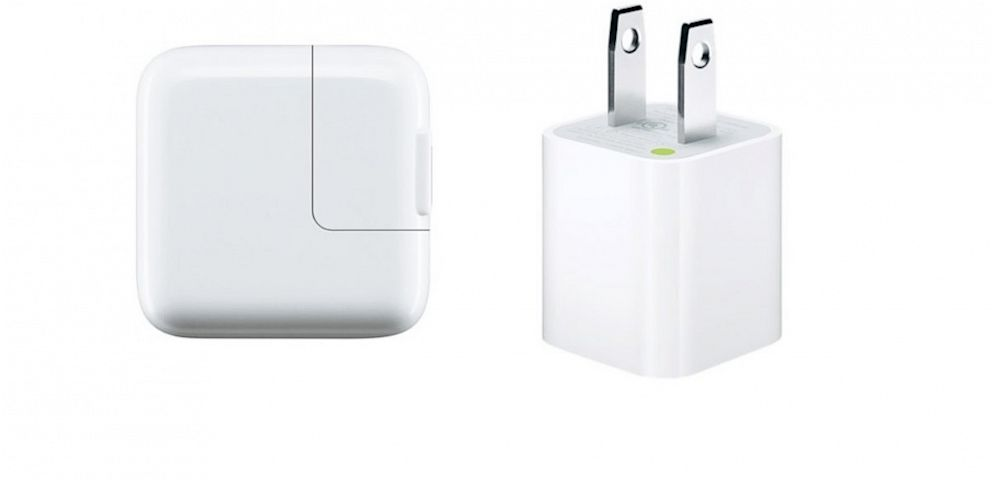 PHOTO: Apples USB power adapter for the iPhone and iPad.