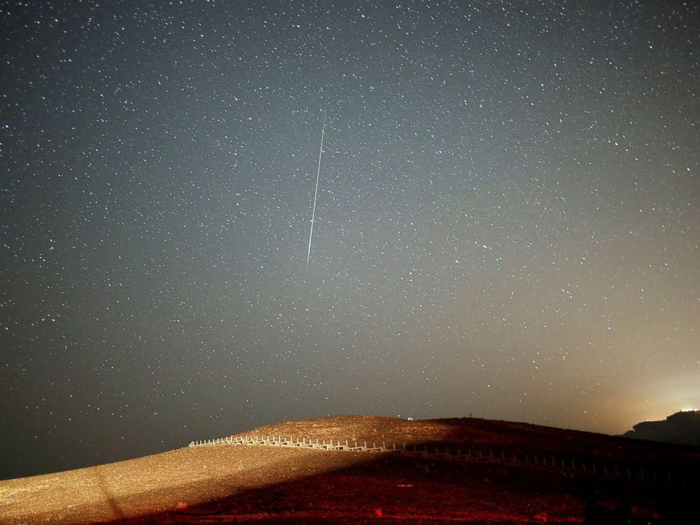 Perseid Meteor Shower Peak Creates Cosmic Display of Light