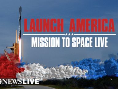 LIVE:  NASA and SpaceX launch US astronauts to space: ABC News Live