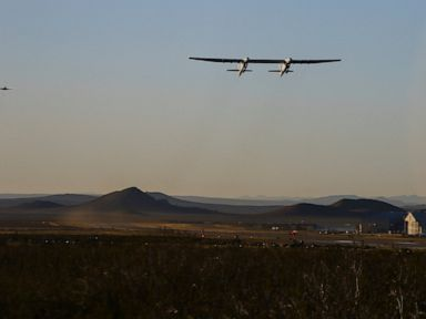 2ffd3159251b91 The Latest  Stratolaunch CEO  Aircraft landed spectacularly - A giant  aircraft with the world s longest wingspan took off from California and  flew 2 ½ hours ...