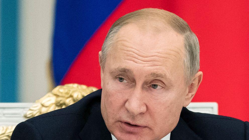 Putin erkennt Bedrohungen durch den Klimawandel