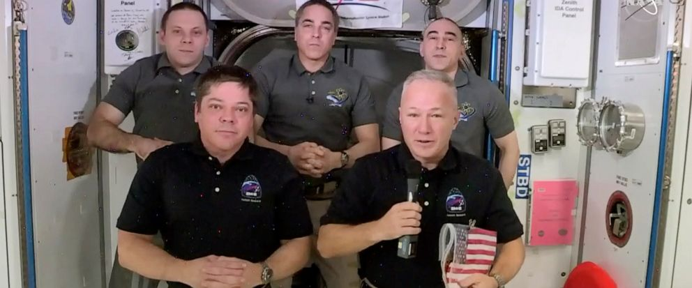 Astronauts face final leg of SpaceX test flight: coming home thumbnail