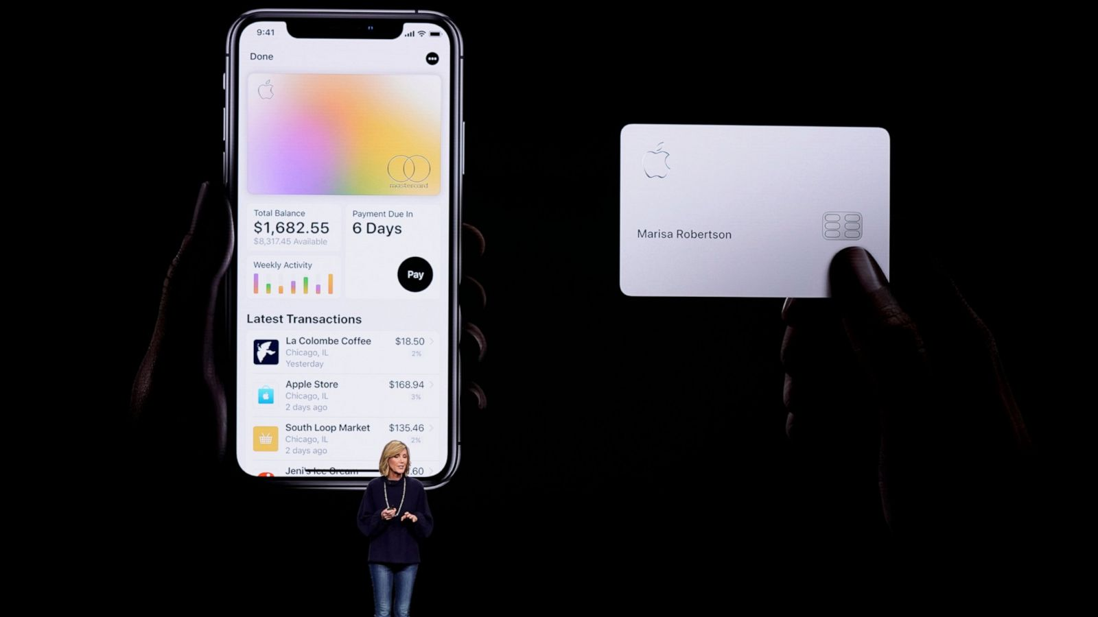 Apple-branded credit card rolls out to some on Tuesday - ABC News