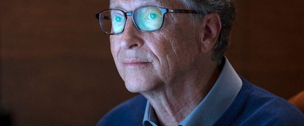 "This image released by Netflix shows billionaire philanthropist Bill Gates in a scene from ""Inside Bills Brain: Decoding Bill Gates,"" streaming Sept. 20. (Saeed Adyani/Netflix via AP)"