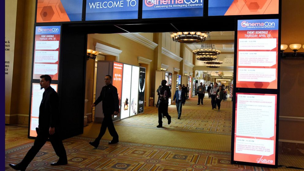 Movie Theater Owners Studios And Stars Convene At Cinemacon Abc News