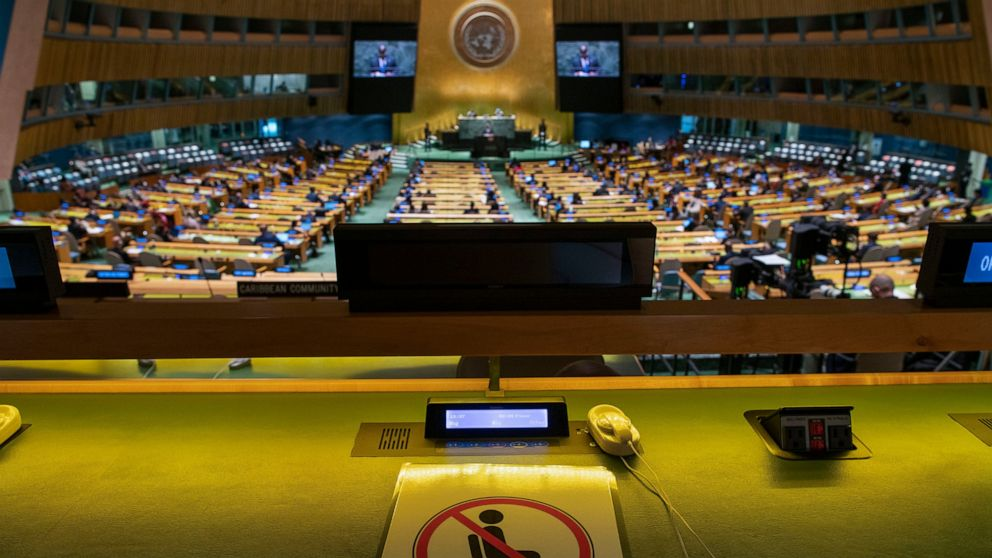 Image African leaders highlight vaccine inequity in UN speeches