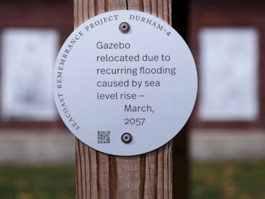 Artist uses 'historic' markers to raise climate awareness