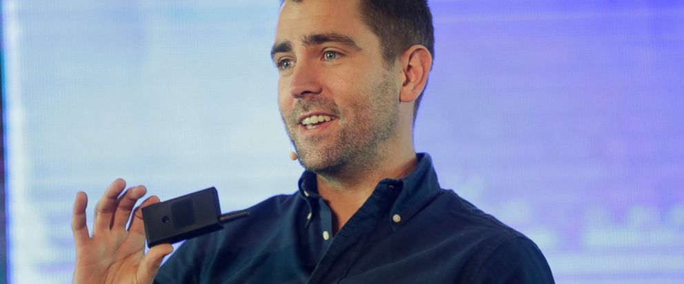 FILE- In this Feb. 27, 2017, file photo Facebooks Chief of Product officer, Chris Cox, speaks at the first day of the social media week at the Landmark centre in Lagos, Nigeria. Two top Facebook executives are leaving the company, including Cox, who