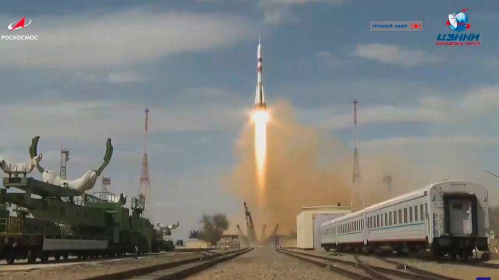 ΜΑΣ-ρωσικό πλήρωμα εκρήξεις για το Διεθνή Διαστημικό Σταθμό