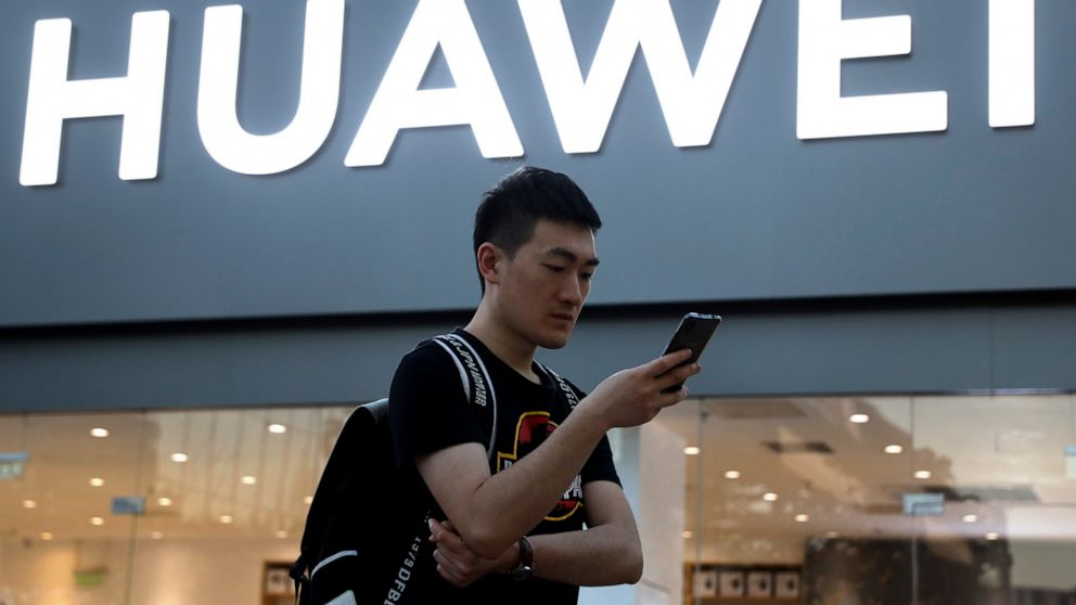 Huawei sells folding smartphone with no Google after US ban