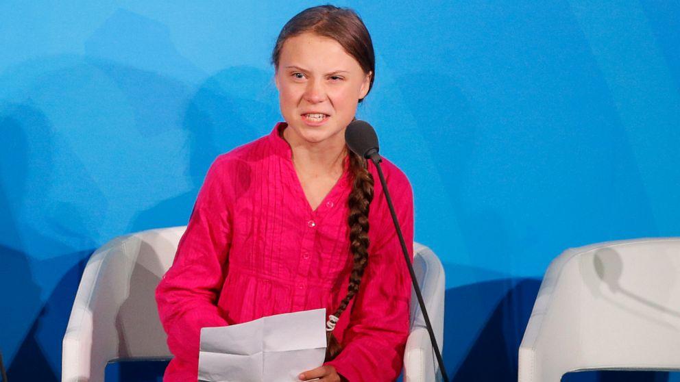 スウェーデンの気候活動家Thunberg勝'代替ノーベル'
