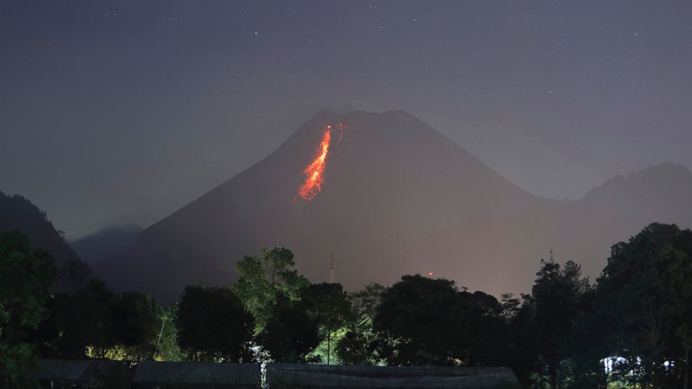 Indonesian volcano unleashes river of lava in new eruption