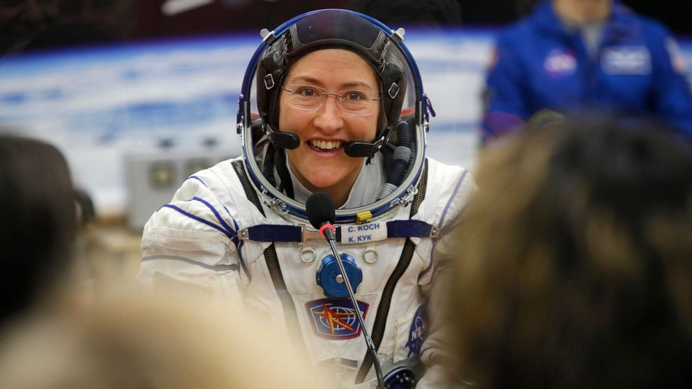 Astronaut craves salsa and surf after record 11 months aloft