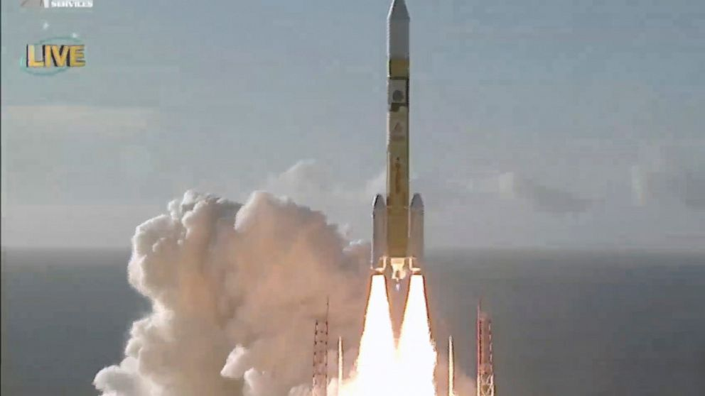 United Arab Emirates spacecraft blasts off from Japan thumbnail