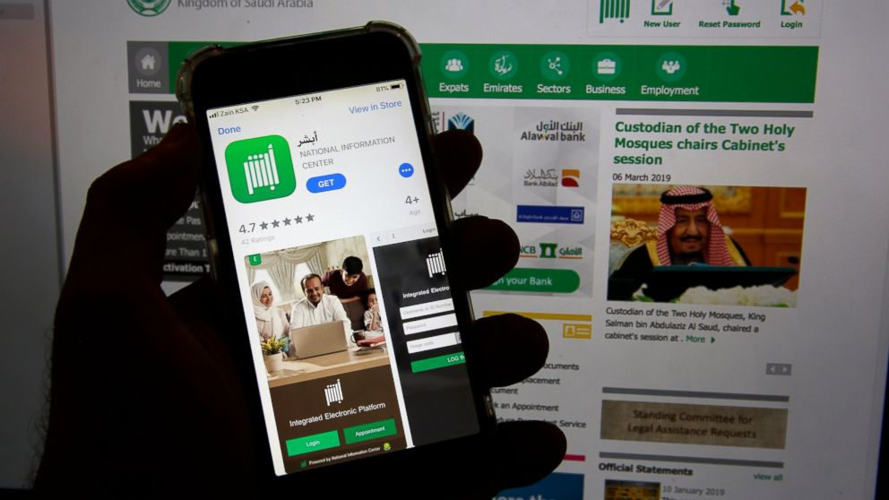 Saudi app criticized for feature to control women s travel - ABC News 015a605806