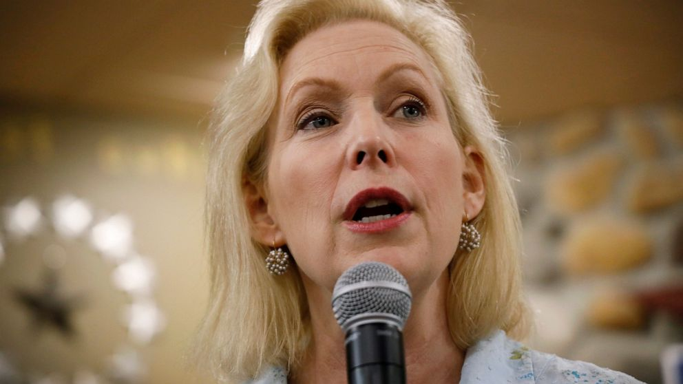 Moulton signs fellow 2020 hopeful Gillibrand's cyber pledge