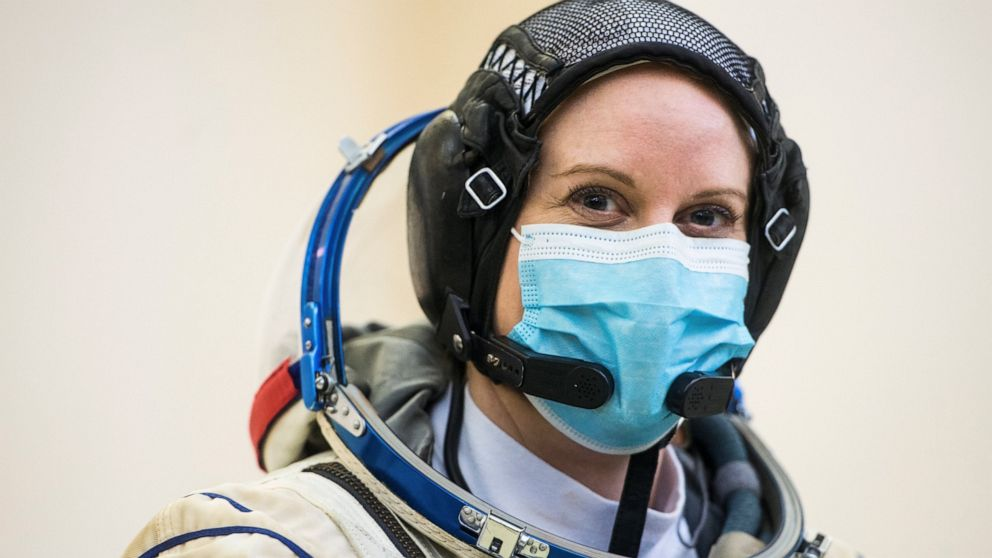 NASA astronaut plans to cast her ballot from space station thumbnail