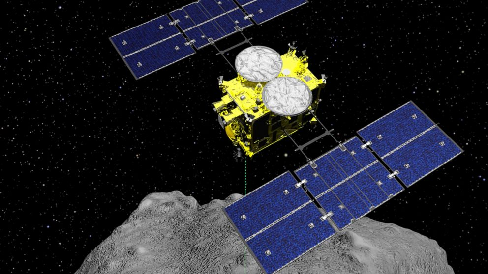 Japan spacecraft carrying asteroid soil samples nears home - ABC News