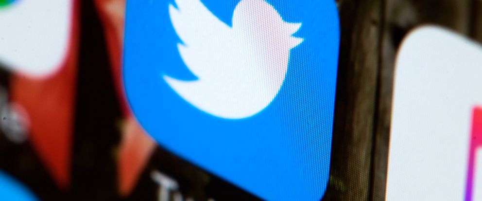 FILE - This Wednesday, April 26, 2017, file photo shows the Twitter app on a mobile phone in Philadelphia. Twitter said Thursday, June 13, 2019, it has deleted nearly 4,800 accounts linked to the Iranian government which served to promote state actio