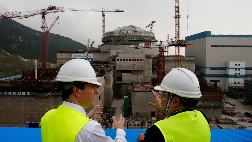Hong Kong leader 'concerned' about Chinese nuclear plant