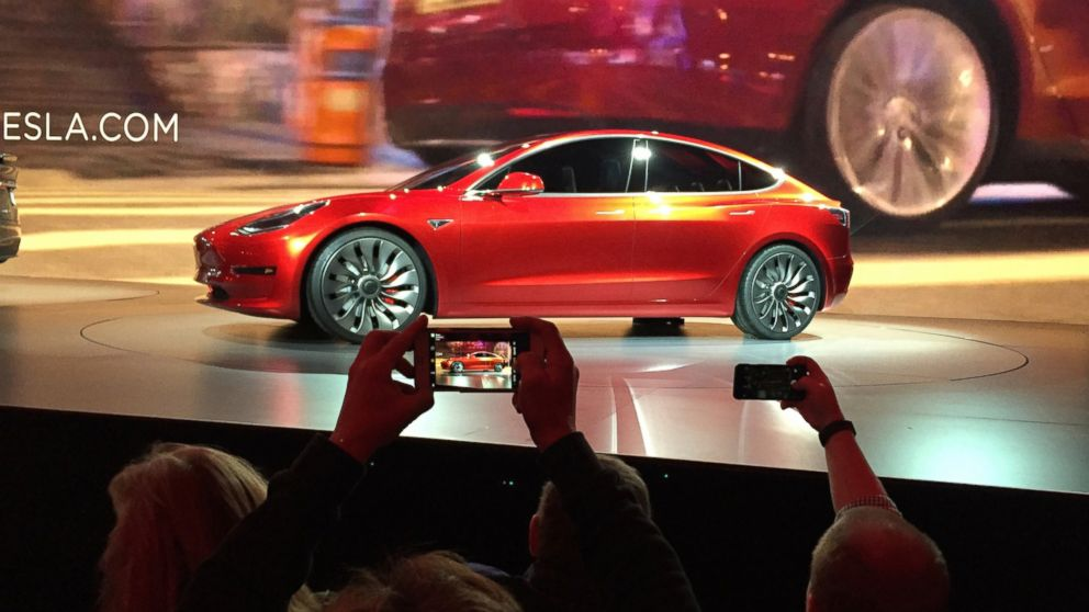 File In This March 31 2016 Photo Tesla Motors Unveils The New